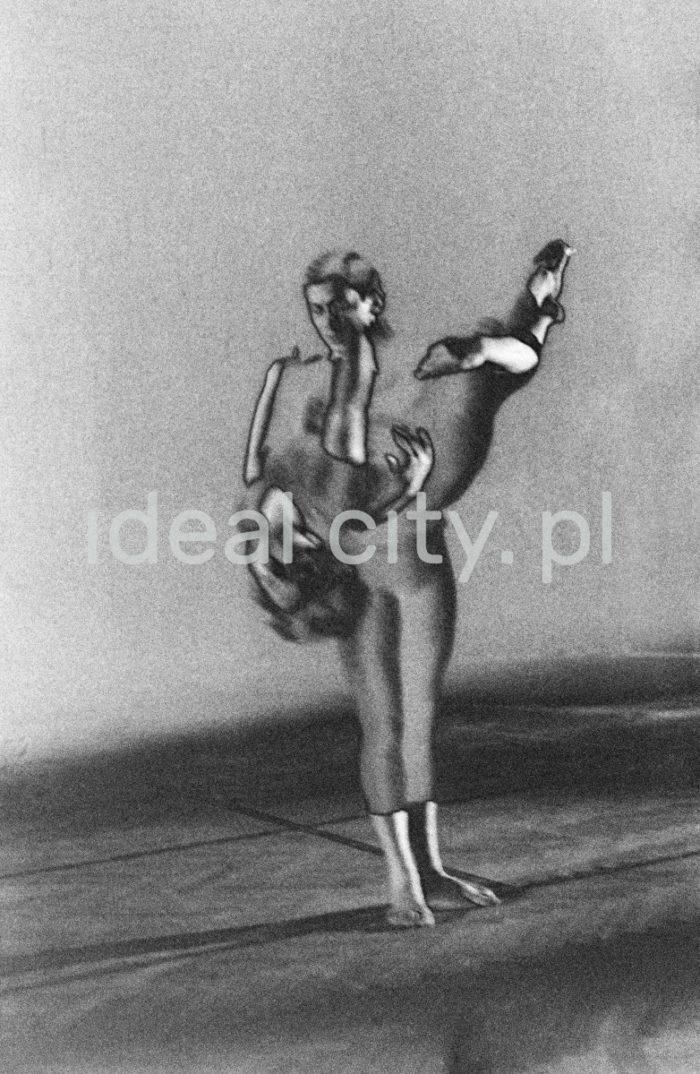 Balet form nowoczesnych, lata 60 XXw. Kraków  fot. Henryk Makarewicz/idealcity.pl