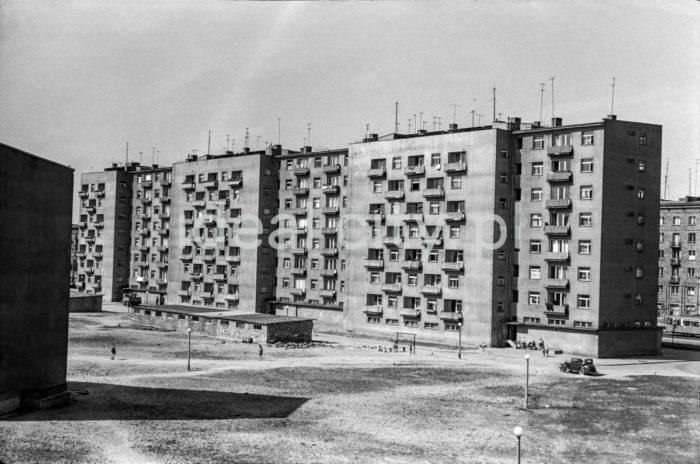 Zabudowa Osiedla Centrum D. Lata 60. XXw.  fot. Henryk Makarewicz/idealcity.pl