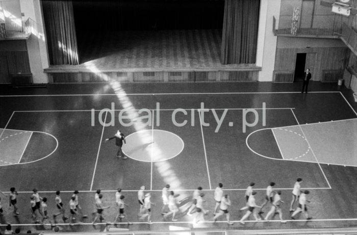 Ośrodek Sportowy w Kielcach, 1963r.   fot. Henryk Makarewicz/idealcity.pl