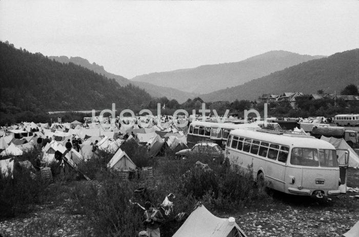Centralny Rajd Hutników, Sromowce, 1966r.  fot. Henryk Makarewicz/idealcity.pl