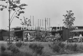Wandy Estate. Late 1960s. Colour photography.  Osiedle Wandy, koniec lat 60. XX w. Fotografia barwna.  Photo by Henryk Makarewicz/idealcity.pl