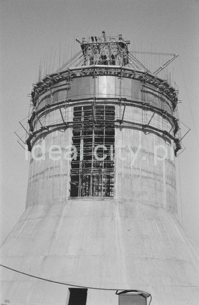 Elektrownia Będzin Łagisza. Ok. 1962r.  fot. Henryk Makarewicz/idealcity.pl