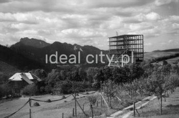 Wiecha na budowie Sanatorium