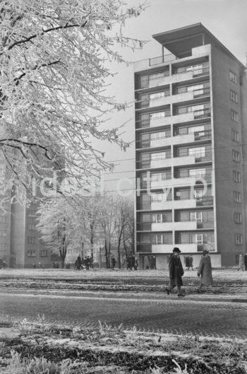Bloki mieszkalne w sektorze D, Osiedle Kolorowe.  fot. Henryk Makarewicz/idealcity.pl